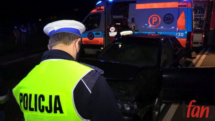 Zderzenie BMW z Audi (FOTO, WIDEO)