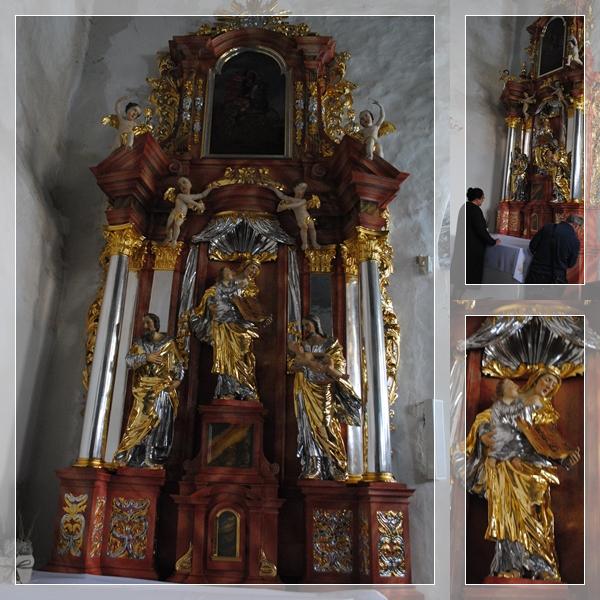 Ołtarz św. Anny wrócił do kościoła w Kurowie Wielkim