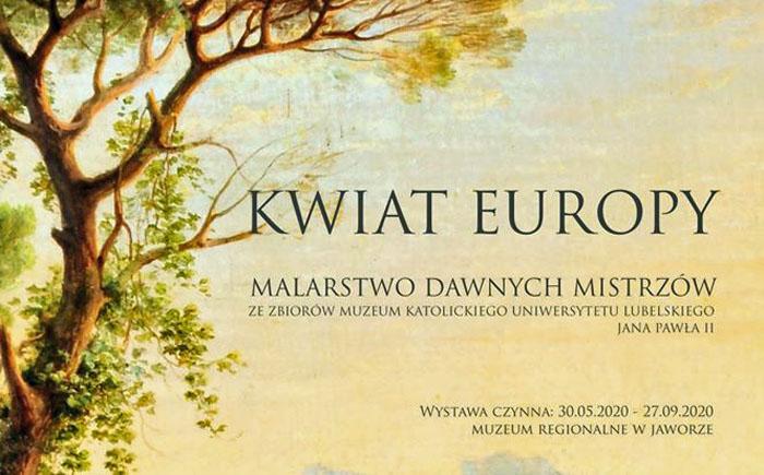 Kwiat Europy zakwitnie na ścianach muzeum