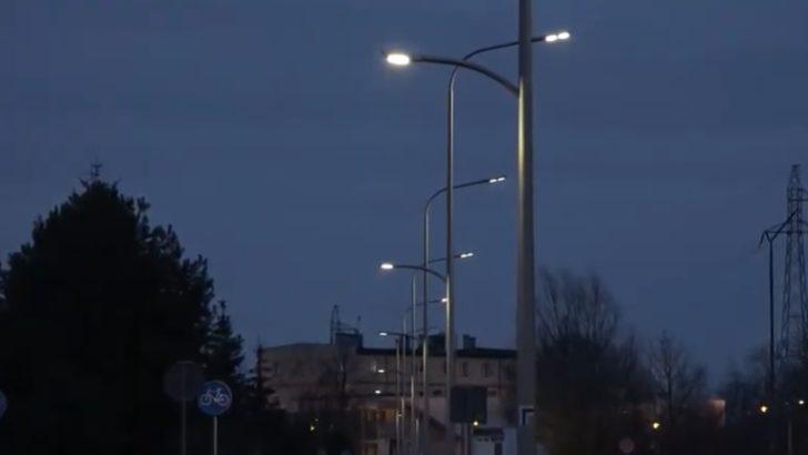 Zamiast starych lamp oświetlenie LED