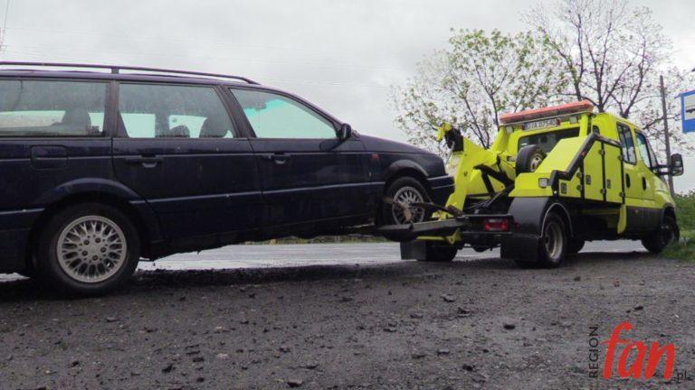 Bez prawa jazdy jechał na promilach (FOTO, WIDEO)