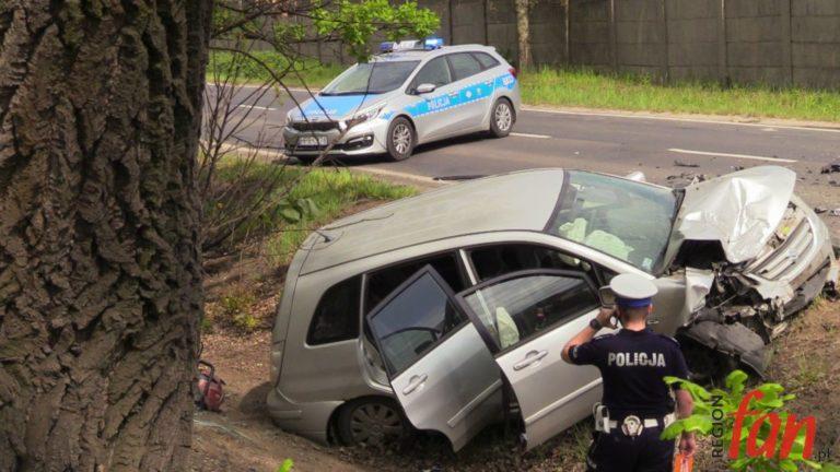 Czołowe zderzenie na Złotoryjskiej (FOTO) – AKTUALIZACJA