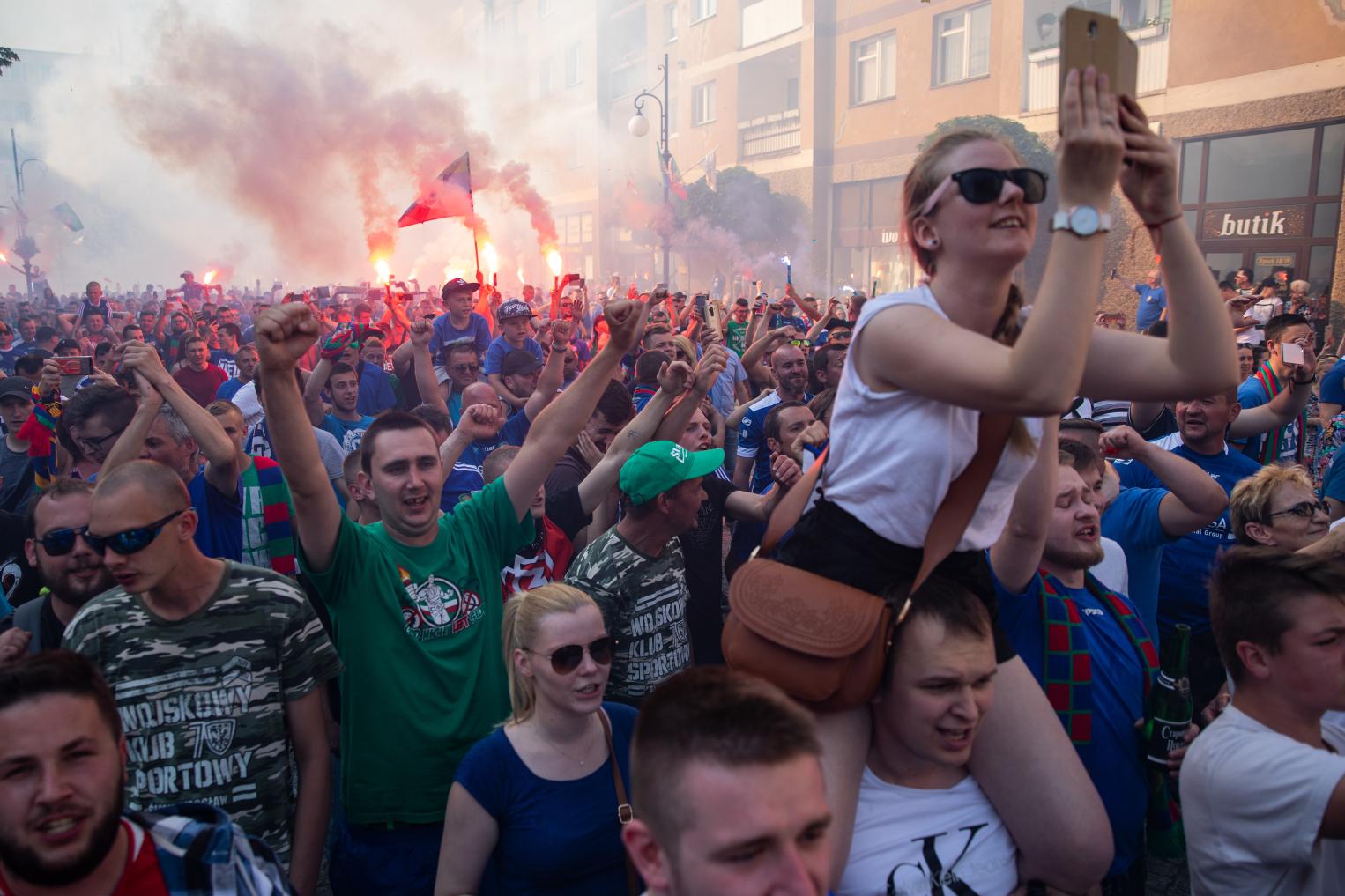 Tak Legnica świętowała awans. Przeżyjmy to jeszcze raz! (FOTO)