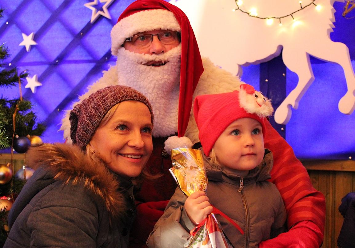 Mikołaj czekał na przedszkolaki (FOTO)