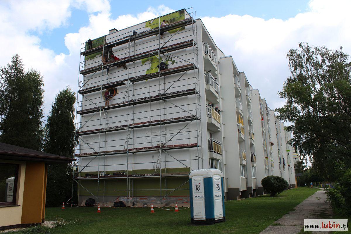 Kolejne murale ozdobią lubińskie bloki