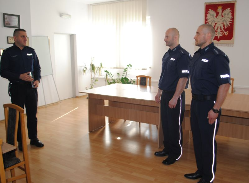 Głogowscy policjanci nagrodzeni za odwagę