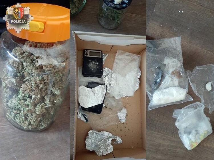 2,6 tys. porcji narkotyków pod łóżkiem