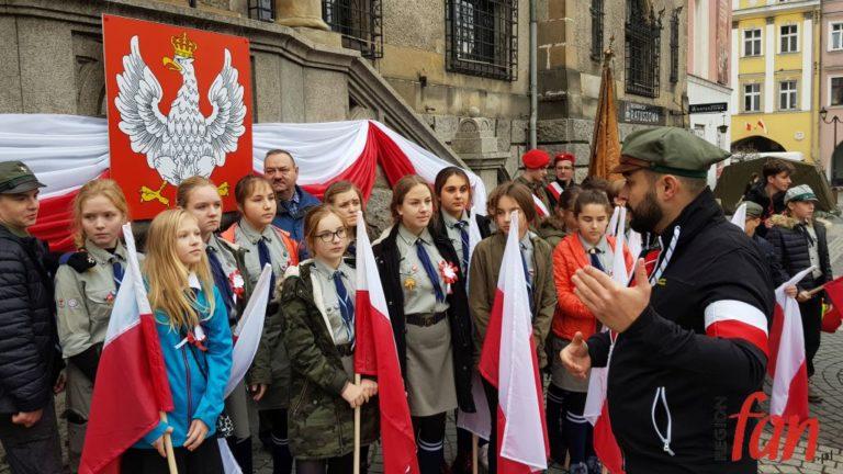Uczcili Niepodleglą i patrona miasta (FOTO)