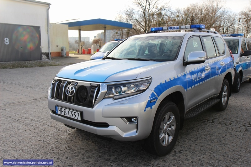 Nowe auta dla policji