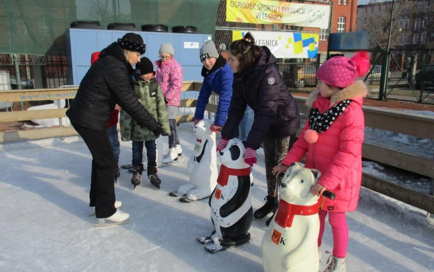 Otwarcie sezonu na legnickim lodowisku