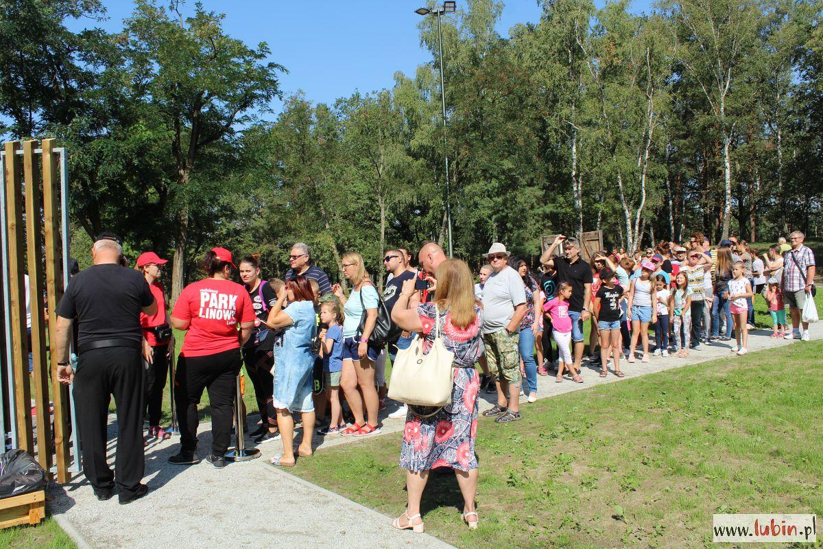 Ponad 100 tysięcy osób w parku Leśnym