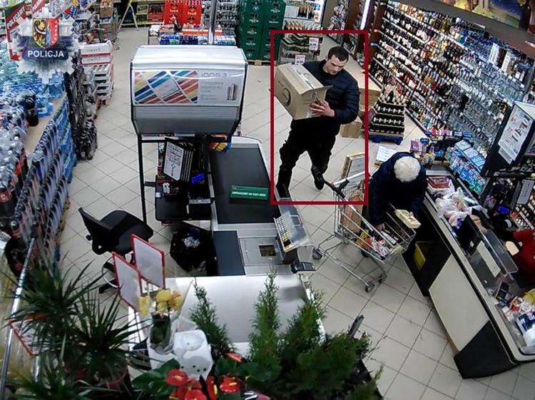 Nakradł papierosów na prawie 3 tys. zł. Szuka go policja