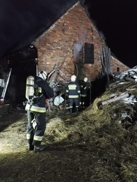 GMINA RUDNA. Kolejna stodoła w płomieniach (WIDEO)