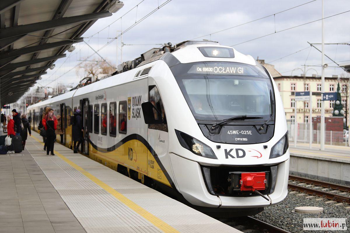 Głogów też daje pieniądze na linię kolejową Lubin-Polkowice-Głogów