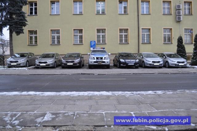 LUBIN. Nowe radiowozy dla policjantów