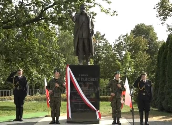 Pomnik Marszałka odsłonięty!