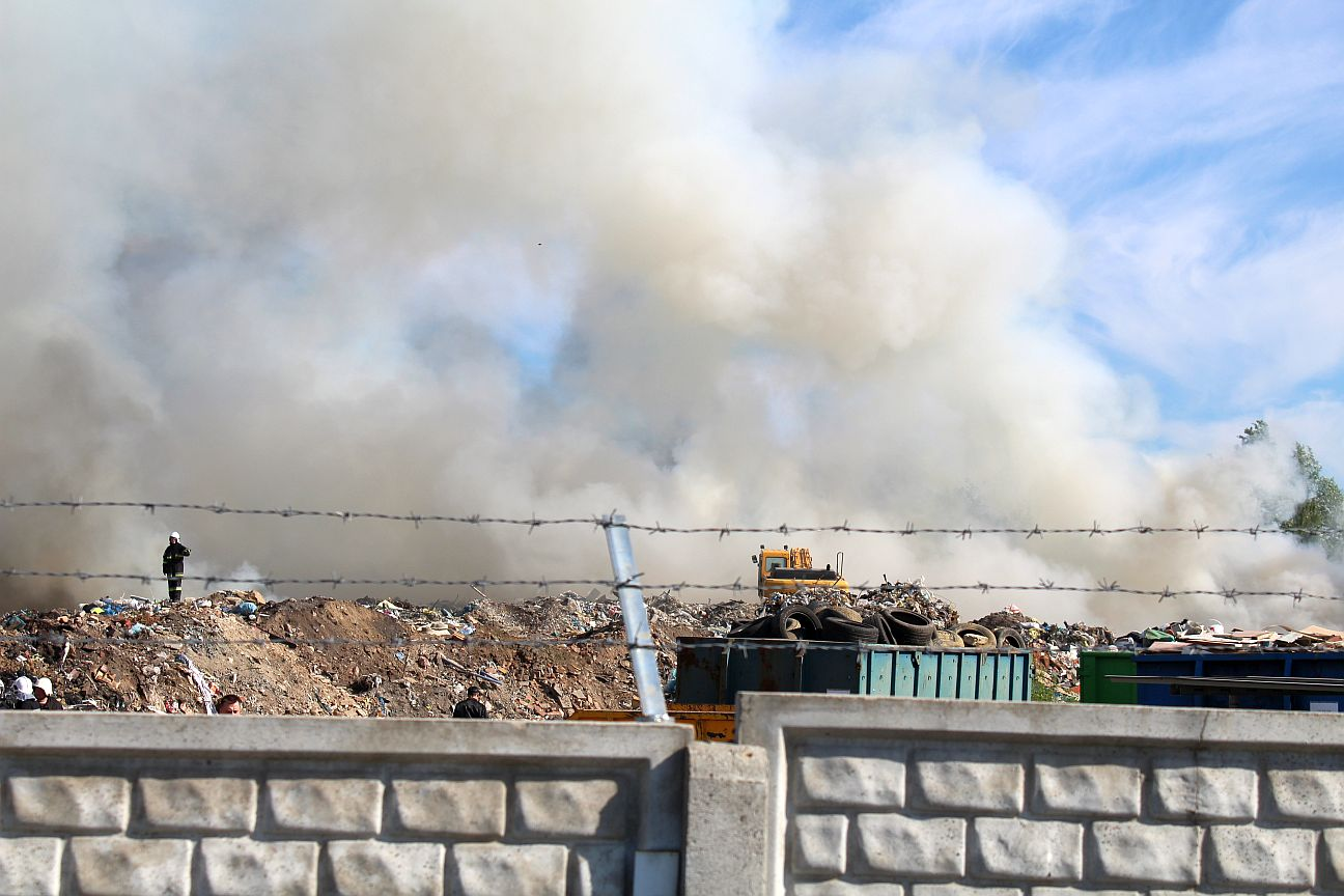 Prokuratura prześwietla składowisko odpadów (WIDEO)