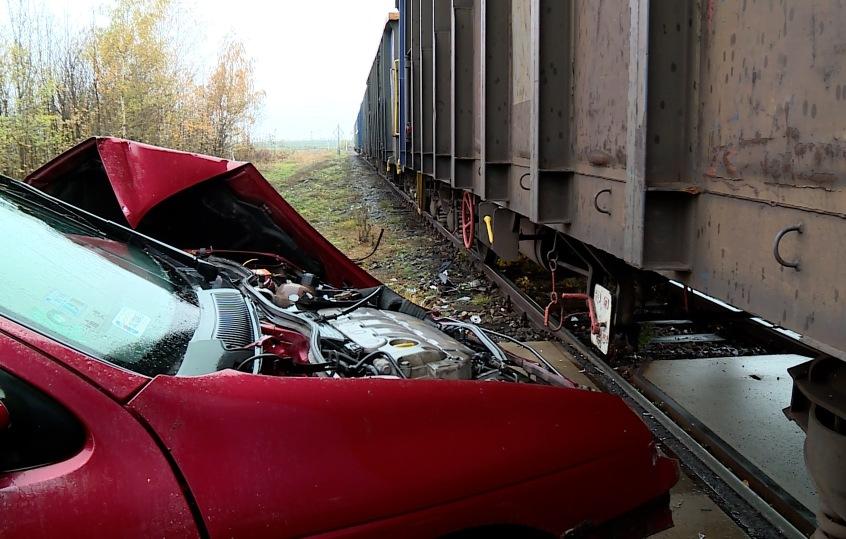 """Zderzył się z pociągiem. """"Byłem senny"""" (FOTO)"""