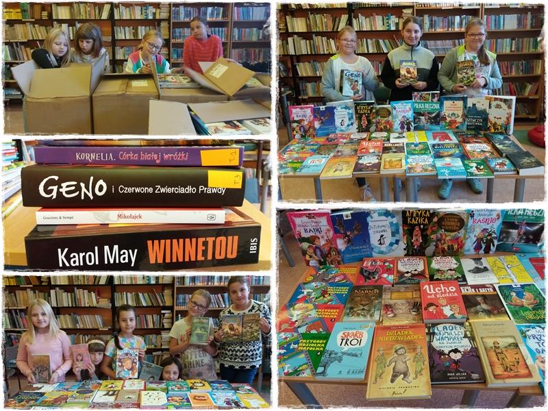 Setki nowych książek w gaworzyckiej bibliotece