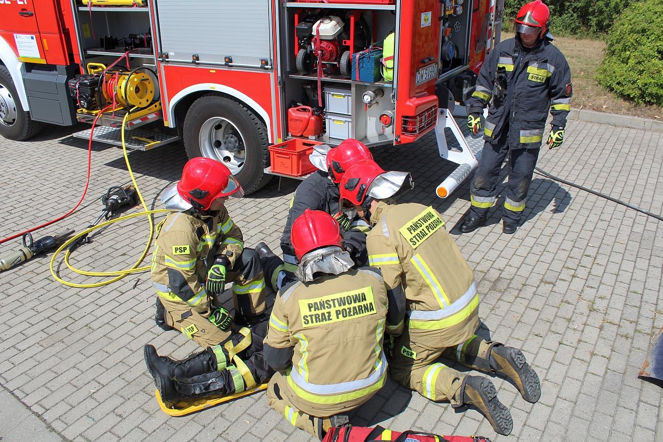 Podziękowali strażakom za ich pracę