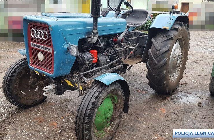 Pijany traktorzysta rzucił wyzwanie policji (WIDEO)