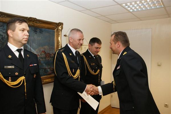 Awans złotoryjskiego dowódcy
