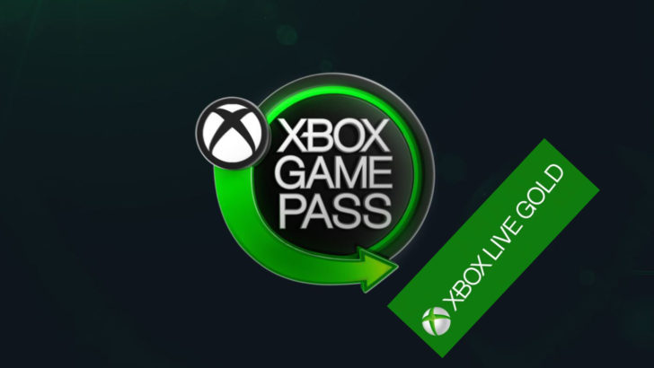Xbox Live Gold a Xbox Game Pass