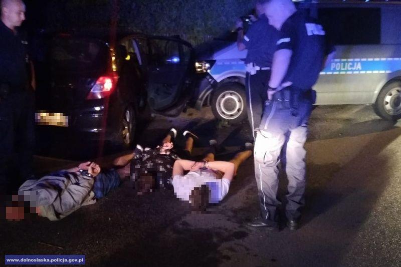 Ścigali go policjanci z dwóch powiatów